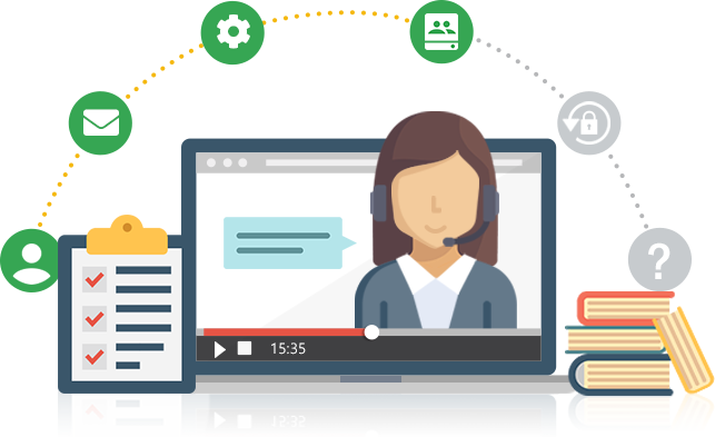 Train your existing and future employees to use G Suite better with this self-paced online video course that can be watched unlimited times (only for customers in Malaysia).