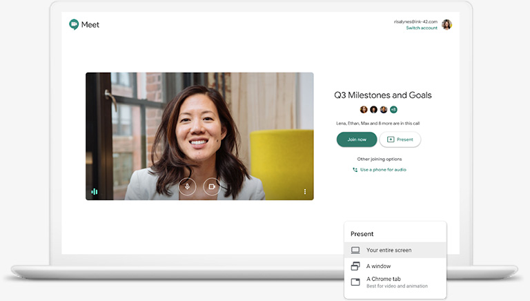 Secure video meetings for your business