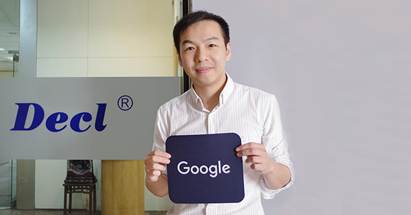 G Suite case study: Mr. Chiang, person in charge of the global market at Decl